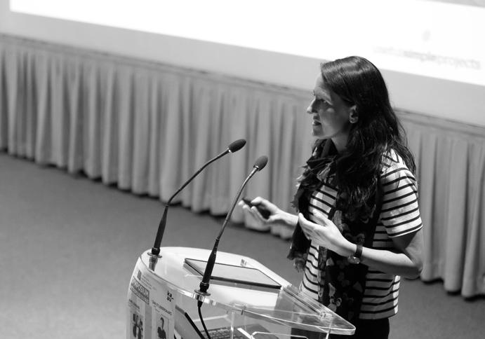 USP Director Judith Sykes at the KAUU Symposium